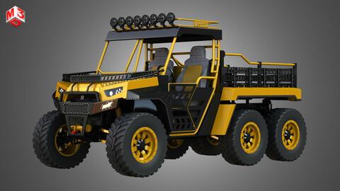 BMS - The Beast 1000 vehicle - Double Axle