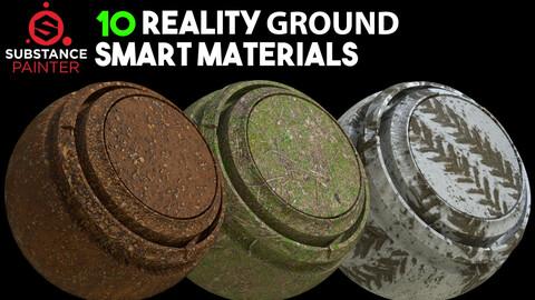 10 High Quality Ground Smart Materials / .spsm