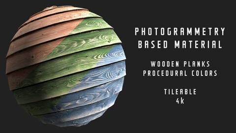 005 Wooden planks - Photogrammetry based material