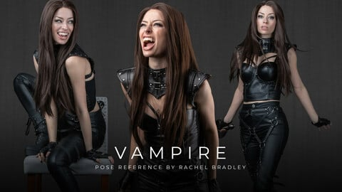 Vampire - Pose Reference for Artists