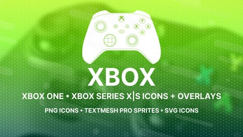 Xbox Buttons Icons + Overlays