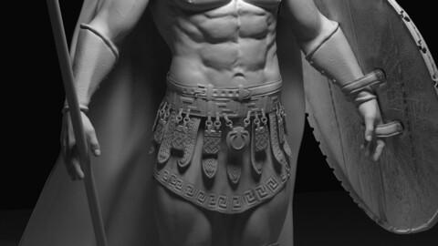 Spartan Warrior 3D model
