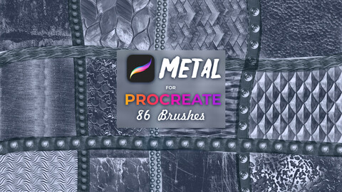 Metal brushes for Procreate