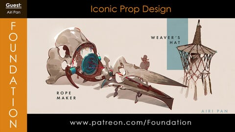 Foundation Art Group - Iconic Prop Design with Airi Pan