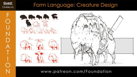 Foundation Art Group - Form Language: Creature Design with Charles Lin