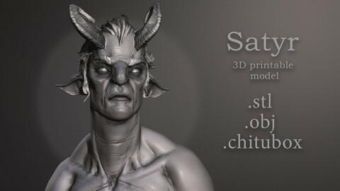 Satyr - ready for 3d printing