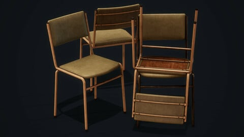 Old Chair - PBR Model