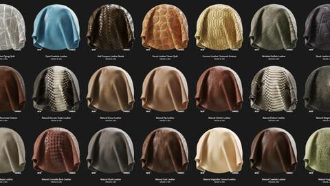 70 leather substances