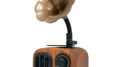 Retro All in One Bluetooth Speaker RT-02