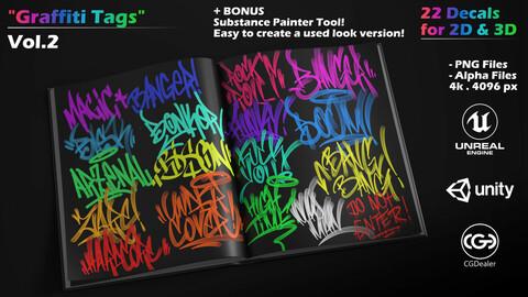 Graffiti Tags - Vol-2