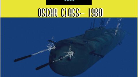 Oscar class 3D model