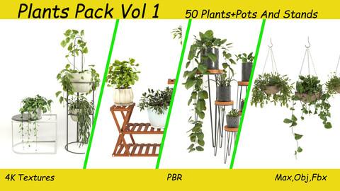 50 Plant Pack + Pots Vol 1