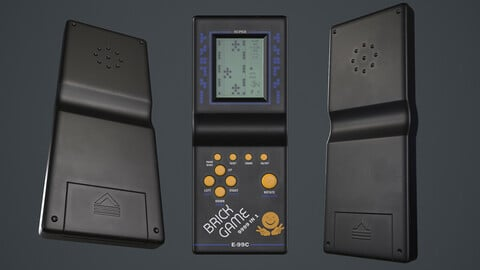 Brick Game (3D MODEL)