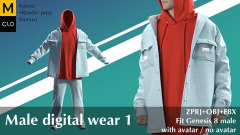 Male digital wear 1