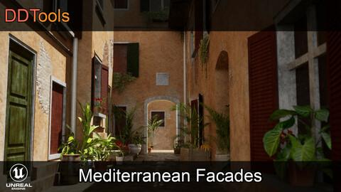 DDTools - Mediterranean Facades for Unreal Engine
