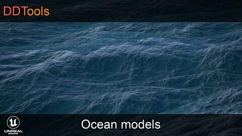 DDTools - Ocean Models & Masks for Unreal Engine