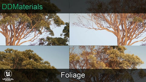 DDMaterials - Foliage for Unreal Engine