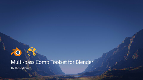 Multi-pass Comp Toolset for Blender by TheKeyframer