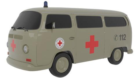 VW T2 german Ambulance