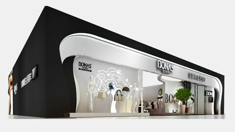Exhibition - size - 20X16-3DMAX2009-009