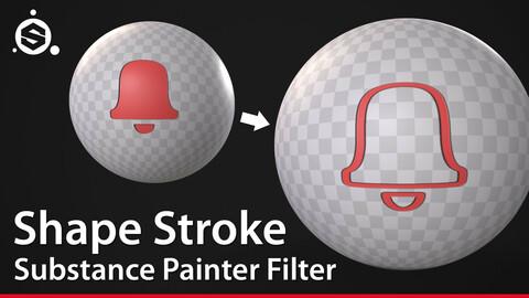 Shape Stroke - Substance Painter Filter