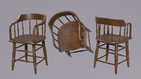 Western Saloon Chair