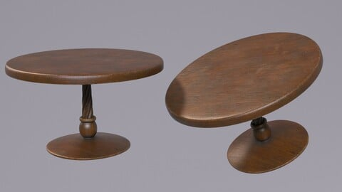 Western Saloon Round Table