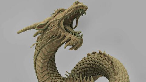 Fantasy Dragon for 3D printing