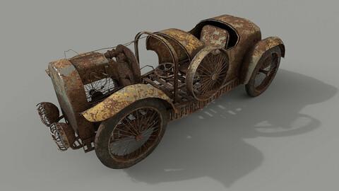 Rust abandoned car
