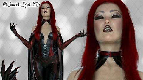Daedrah Red & Black 02