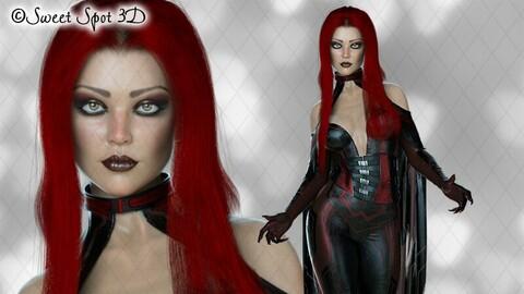 Daedrah Red & Black 04
