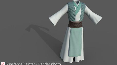 Chinese style ancient clothing  I_4K