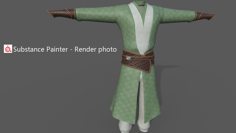 Chinese style ancient clothing  O