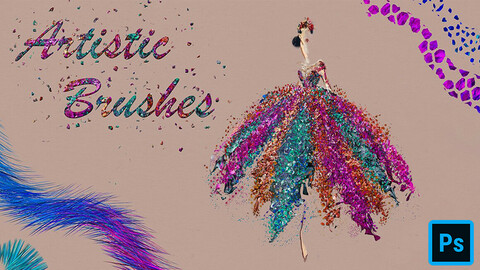 Artistic Brushes for Photoshop
