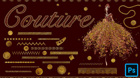 Couture Brushes for Photoshop