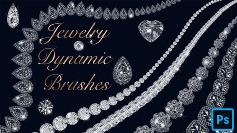 Jewelry Brushes for Photoshop