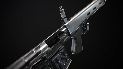 Svu Sniper Rifle