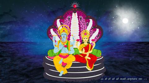 Vishni Lakshmi, Hindu Gods