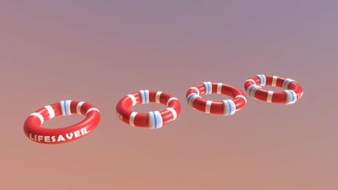 Lifesavers Pack - Red
