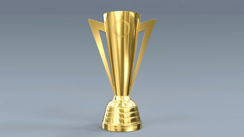 Gold Cup Concacaf Trophy 3D model
