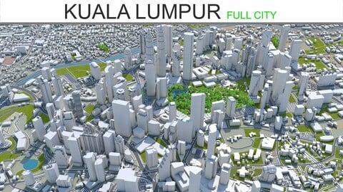 Kuala Lumpur  City 3D Model
