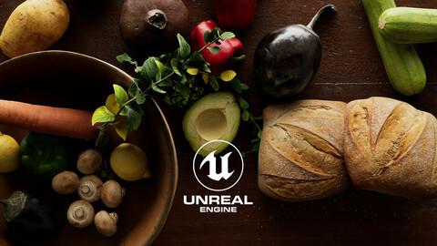 Unreal 5 Food Pack