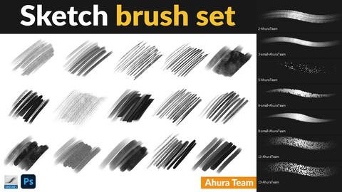 Sketch brush set-AhuraTeam