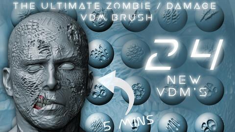 The Ultimate Zombie / Damage Skin VDM Brush