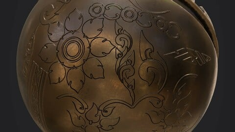 Free Ornamental Seamless Brushes/Alphas for SP etc