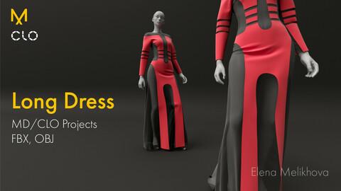 Long Modern Dress