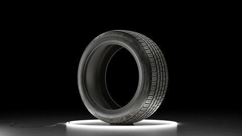 Car tire NEXEN NFERA AU7 3D model