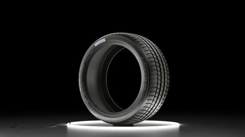 Car tire BFGoodrich Advantage 3D model