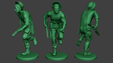 Modern Jungle Soldier Run6 MJS1