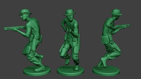 Modern Jungle Soldier Run7 MJS1